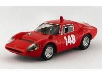 BEST MODEL 1/43 ABARTH 1300 OT N.148 SWISS MOUNTAIN GP 1967 TONIE HEZEMANS MODELLINO