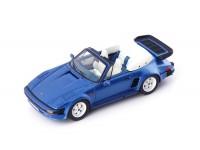 AVENUE 43 PORSCHE 911 SE FLATNOSE CABRIO 1988 BLUE MODELLINO