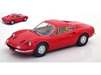 MODELCAR GROUP 1/18 FERRARI DINO 246 GT 1969 ROSSA MODELLINO