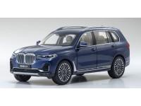 KYOSHO 1/18 BMW X7 PHAITNIC BLUE MODELLINO APRIBILE