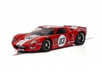 Scalextric 1/32 Ford GT40 rossa N.83 Modellino Slot Car