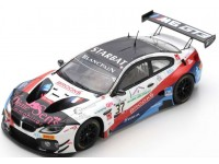 SPARK MODEL 1/43 BMW M6 GT3 N.37 24 ORE SPA 2019 MODELLINO