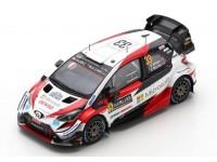 SPARK MODEL 1/43 TOYOTA YARIS WRC N.33 VITTORIA RALLY SVEZIA 2020 MODELLINO