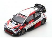 SPARK MODEL 1/43 TOYOTA YARIS WRC N.1 ARCTIC LAPLAND RALLY 2020 MODELLINO