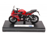WELLY 1/18 HONDA CBR 650F 2018 MODELLINO