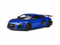 GT SPIRIT 1/18 AUDI R8 PERFORMANCE PARTS BLU MODELLINO