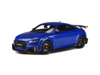GT SPIRIT 1/18 AUDI TT RS PERFORMANCE PARTS BLU MODELLINO