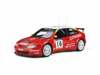 OTTOMOBILE 1/18 CITROEN XSARA KIT CAR N.16 VITTORIA RALLY CATALUNYA 1999 MODELLINO