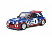 OTTOMOBILE 1/12 RENAULT 5 MAXI TURBO N.1 TOUR DE FRANCE AUTO 1985 MODELLINO