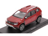 NOREV 1/43 DACIA DUSTER 2018 FLAMME RED MODELLINO
