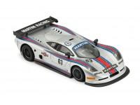 NSR 1/32 Mosler MT 900 R Martini Racing n.63 grigia slot car