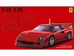 Fujimi 1/24 Ferrari F40 LM kit di montaggio