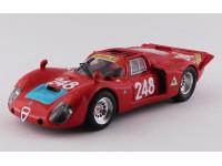 BEST MODEL 1/43 ALFA ROMEO 33.2 N.248 TARGA FLORIO 1969 MODELLINO