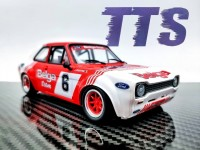 TTS 1/24 Ford Escort RS 1600 n.6 Colt Racing vittoria rally mille laghi 1974