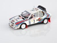SRC 1/32 LANCIA DELTA S4 MARTINI N.7 RALLY MONTE CARLO 1986 SLOT CAR