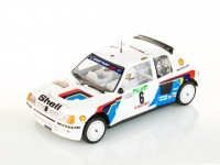SRC 1/32 Peugeot 205 T16 Evo1 n.6 vittoria rally portogallo 1985 slot car