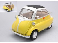 WELLY 1/18 BMW ISETTA 250 GIALLA MODELLINO
