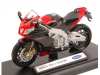 WELLY 1/18 APRILIA RSV FACTORY MODELLINO