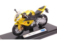 WELLY 1/18 BMW S 1000 RR GIALLA MODELLINO