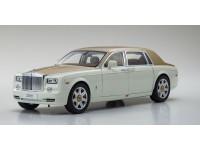Kyosho 1/18 Rolls-Royce Phantom EWB English White modellino