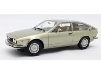 CULT SCALE MODELS 1/18 ALFA ROMEO ALFETTA GT 1975 VERDE METALLIZZATO MODELLINO