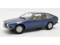CULT SCALE MODELS 1/18 ALFA ROMEO ALFETTA GT 1975 BLU METALLIZZATO MODELLINO