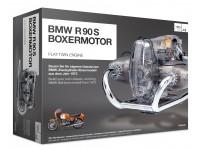Franzis 1/2 BMW R 90 S-Boxermotor scatola di montaggio
