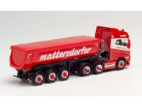 """Herpa 1/87 Volvo FH Gl. Thermo """"Mattersdorfer"""" modellino"""