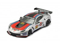 NSR 1/32 Corvette C7R Martini Racing n.22 grigia modellino slot car