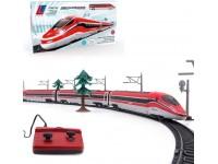 LE Toys pista treno Frecciarossa 1000 a batterie radiocomandato