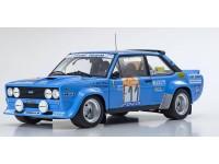 Kyosho 1/18 Fiat 131 Abarth Rally n.11 rally Sanremo 1981 modellino