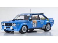 Kyosho 1/18 Fiat 131 Abarth Rally n.11 rally Sanremo 1981 modellino