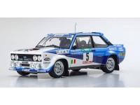 Kyosho 1/18 Fiat 131 Abarth Rally Portogallo 1980 diecast con aperture