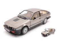 SOLIDO 1/18 ALFA ROMEO GTV6 1984 SILVERGOLD MODELLINO