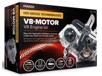 Franzis 1/3 modellino motore V8 scatola di montaggio