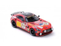 ALMOST REAL 1/18 MERCEDES AMG GT R ROTE SAU WITH DRIVING LAMP MODELLINO APRIBILE