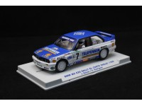 Flycarmodel 1/32 BMW M3 E30 n.7 Rally el Corte Ingles 1988 slot car