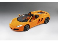 TSM MODEL MODELLINO AUTO 1:43 McLAREN MP4-12C SPIDER 2013 ORANGE