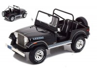 MODELCAR GROUP 1/18 JEEP CJ-7 LAREDO NERA MODELLINO