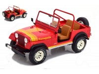 MODELCAR GROUP 1/18 JEEP CJ-7 RENEGADE ROSSA MODELLINO