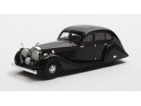 Matrix Scale Models 1/43 Bentley 4,5 Litre Gurney-Nutting Airflow Saloon nera 1936 modellino