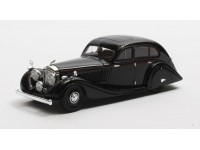 Matrix Scale Models 1/43 Bentley 4,5 Litre Gurney-Nutting Airflow Saloon nera 1936 modellino