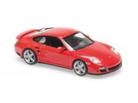 MAXICHAMPS 1/43 PORSCHE 911 TURBO (997) ROSSA 2006 MODELLINO