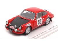 SPARK MODEL 1/43 PORSCHE 911 T N.85 RALLY MONTE CARLO 1969 MODELLINO