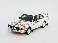 TROFEU 1/43 AUDI SPORT QUATTRO N.1 NATIONAL BREAKDOWN RALLY 1986 MODELLINO