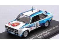 CMR 1/43 FIAT 131 ABARTH N.10 VITTORIA RALLY MONTE CARLO 1980 MODELLINO