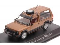 NOREV 1/43 TALBOT MATRA RANCHO 1982 COLOR BRONZO MODELLINO