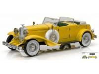 """GREENLIGHT 1/18 DUESEMBERG II SJ 1934 """"THE GREAT GATSBY"""" MODELLINO"""
