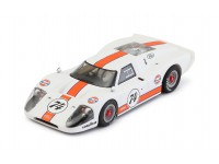 NSR 1/32 FORD MKIV GULF LIMITED EDITION WHITE N.74 SLOT CAR