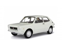 LAUDORACING 1/18 FIAT 127 1 SERIE 1971 BIANCA MODELLINO
